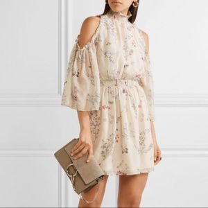 NWT Rachel Zoe Meade 100% silk floral dress
